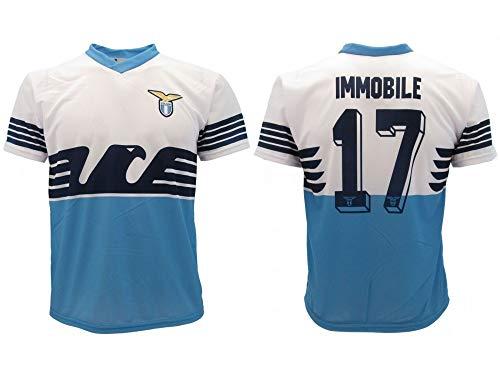 Camiseta de equipación oficial Lazio 2019, temporada 2018 2019, réplica autorizada Ciro número 17 SS Aquila Home