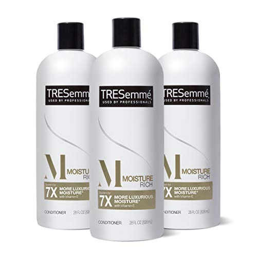 TRESemmé Conditioner for Dry Hair Moisture Rich Professional Quality SalonHealthy Look and Shine Moisture Rich Formulated with Vitamin E and Biotin, 28 Fl Oz