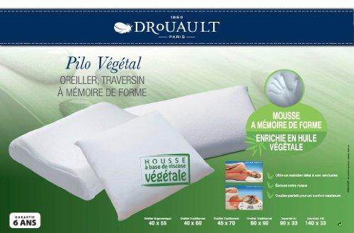 Oreiller Pilo Végétal, Drouault - Taille - 60 x 60 cm