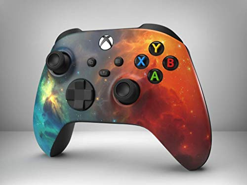 Nebula Soft Touch Special Edition Custom Microsoft Xbox Wireless Controller for Xbox One, Series S X, PC (With 3.5 Headset Port)