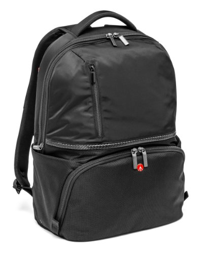 Manfrotto MB MA-BP-A2 Active 2 Zaino per Reflex Obbiettivi e Laptop, Nero/Antracite