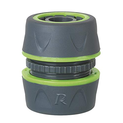 Ribiland 01173 - Raccord Jonction Plastique - Diamètre 19 mm - Gris Vert