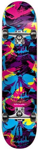 Speed Demon 11614149 Skateboard Motif Full Skull T. Shadow Multicolore 19,8 cm