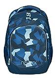 Neoxx Fly Schulrucksack Camo Nation I Schulranzen für die Schule I Ergonomischer Rucksack