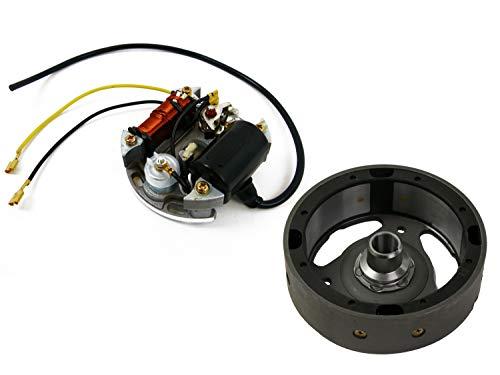 Lichtmaschine mit Polrad 6V 17W Zündung Bosch passend für Puch, Kreidler, Sachs,...