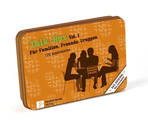Talk-Box Vol. 1 - Für Familien, Freunde und Gruppen. 120 Impulskarten