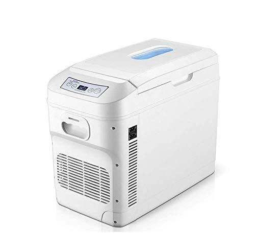 LMDC Refroidisseur et réchauffeur de voiture électrique 28 litres, mini refroidisseur for voiture, refroidisseur portable for système thermoélectrique à courant continu 12V for Road Trip, camping, piq