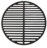 Dracarys 15' Cast Iron Grids Grate Fire Pit Big Green Egg Accessories Replacement Parts Grill & Smoker Round Grilling Cooking Grate Fit for Medium Big Green Egg Grill & Smoker,Fire Pit(Medium - 15')