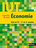 Économie GEA et TC 1re et 2e années IUT - 1ère et 2ème années