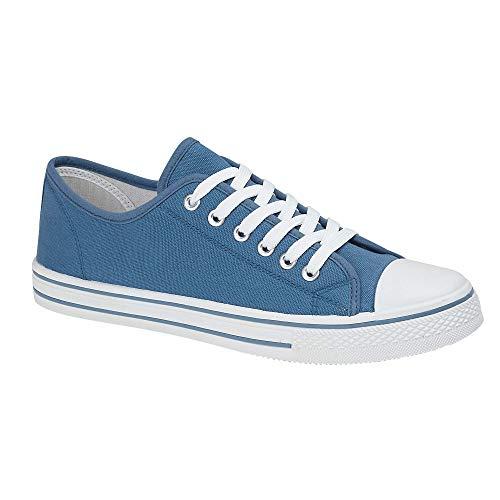 Zapatillas de béisbol de lona para hombre - Baltimore, color Azul, talla 42 1/3 EU