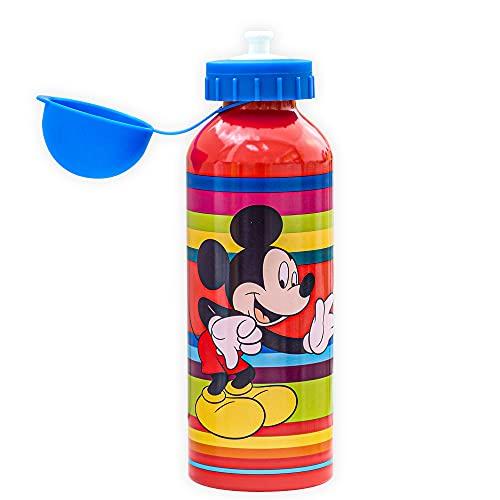 SKYLINE Cantimplora Infantil 500 ML, Botella Aluminio para Niños, Térmica, Con Tapa...