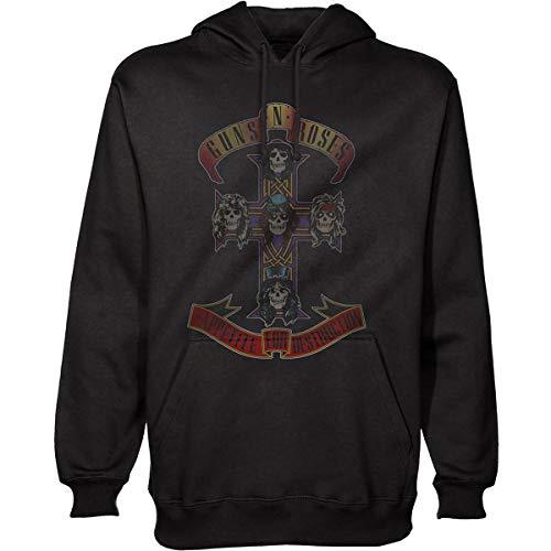 Guns n' Roses Appetite for Destruction Officiel Vestes à Capuches (X-Large)