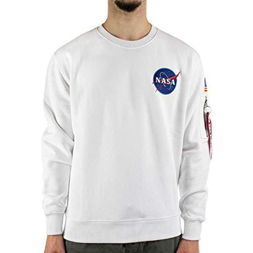 Alpha Industries NASA Space Shuttle Sweater, Felpa - XL