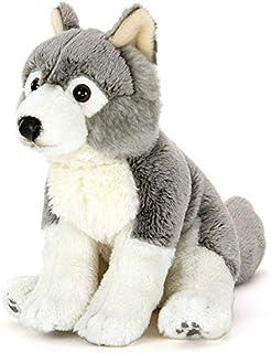 カロラータ オオカミ 子 ぬいぐるみ 動物 (リアルアニマルファミリーシリーズ) 11cm×17cm×16cm