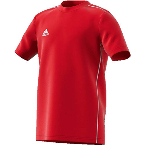 adidas Kinder Core 18 Tee T-Shirt, Power red/White, 164