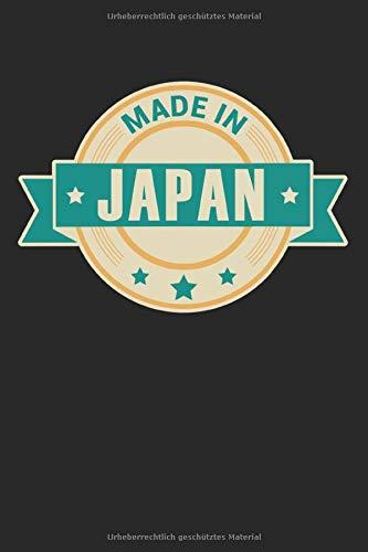 Made in Japan: Tagebuch, Notizbuch, Buch 100 linierte Seiten im Softcover für alles, was man sich notieren und nicht vergessen möchte