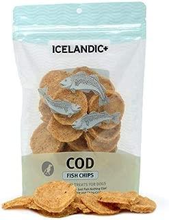 Icelandic+ Cod Fish Chips Dog Treat 2.5-oz Bag