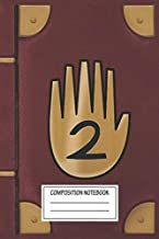Notebook: Journal 2 Gravity Falls , Journal for Writing, Size 6