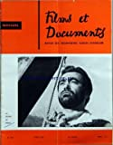 FILMS ET DOCUMENTS [No 231] du 01/03/1967 - LA RIVIERE DU HIBOU - CINEMA TCHEQUE -...