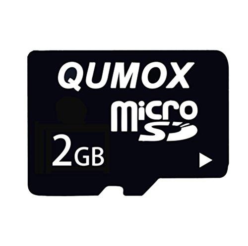 QUMOX 2GB MicroSD Tarjeta de Memoria Flash TF