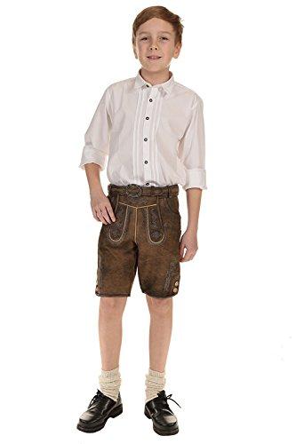 Ederer Isar-Trachten Kinder Hemd weiß 48200 weiß