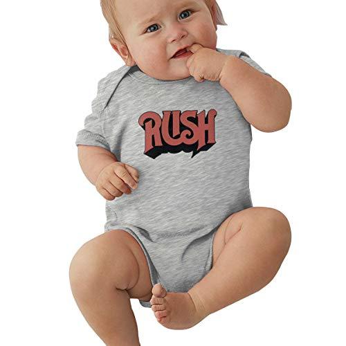 EVE JOHN Rush Photo Baby Boy Onesies Cute Gray 0-3M