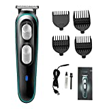VGR Hair Trimmer for Men Cordless Electric Clippers Hair Cutting Kit 4 Guide Combs Haircut Men Shaving Machine Hair Styling Tool