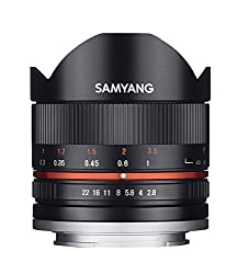 SAMYANG 8mm F2.8 FISHEYE2 for SONY E-mount