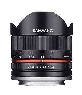 Samyang 8mm F2.8 UMC Fisheye II (Black) Lens for Fuji X Mount Digital Cameras (SY8MBK28-FX) (B00JD4T9M4) | Amazon price tracker / tracking, Amazon price history charts, Amazon price watches, Amazon price drop alerts