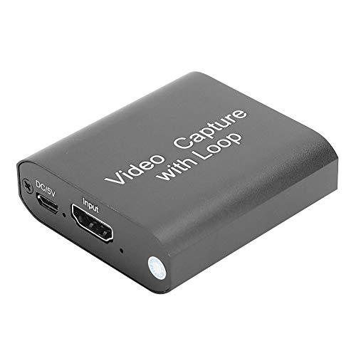 Captura de Video de Baja latencia con Bucle, Tarjeta de Captura de Juegos de Software Popular, Dispositivos ABS con Salida para transmisión en Vivo de DVD