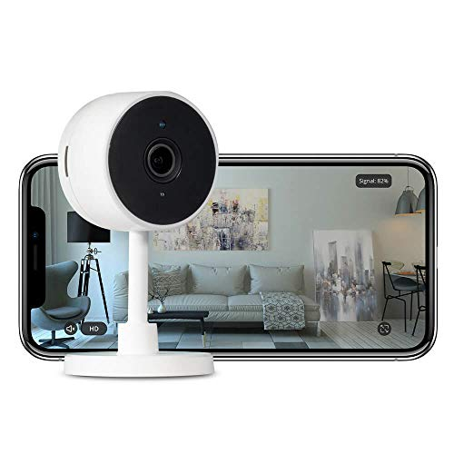 iPixo WiFi IP Home Indoor Sicherheitskamera HD | Senioren Haustier Baby Video Monitor Gegensprechanlage