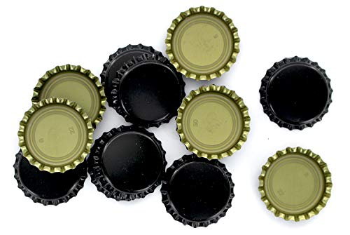 Crown Caps With Oxy-Liner - Case of 10,000 Caps Black