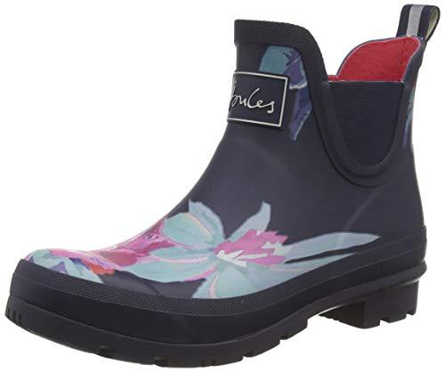 Joules Women's Work Wellington Boots, Blue Navy Floral Navyflrl, 39