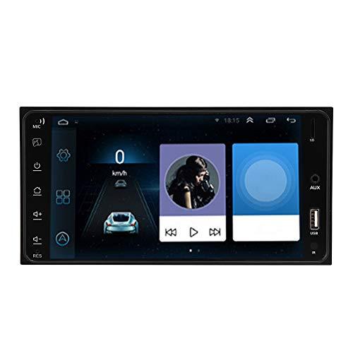 Reproductor de radio de automóvil, hecho de ABS y aleación de aluminio MTK8127 RAM 1G, ROM 16G Coche estéreo para iOS de un solo sentido