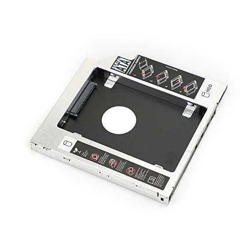 Flymotor 12,7 mm Caddy S-A-T-A 3 segundos nuevo disco duro SSD CD/DVD-ROM adaptador de bahía óptica
