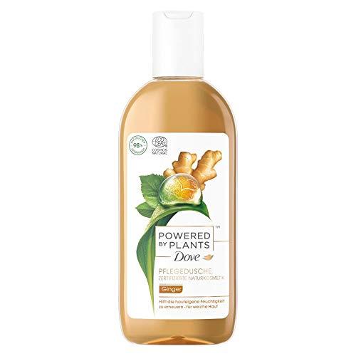 Dove Powered by Plants Pflegedusche Ginger mit pflanzenbasierten Wirkstoffen für weiche und strahlende Haut 250 ml 1 Stück