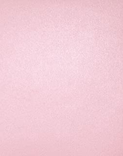 """LUXPaper 8.5"""" x 11"""" Cardstock for Crafts and Cards in 105 lb. Rose Quartz Metallic, Scrapbook Supplies, 50 Pack (Pink)"""
