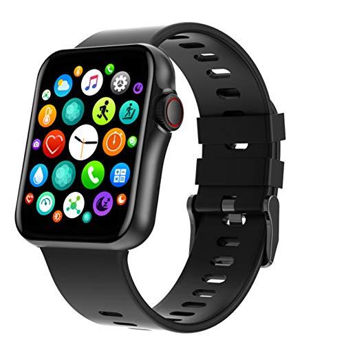 YPZ D06 New Smart Watch Pulsera Menor y Mujer Reloj Deportivo para Mujer Monitor de Ritmo cardíaco Monitor de sueño Impermeable para Android iOS,C