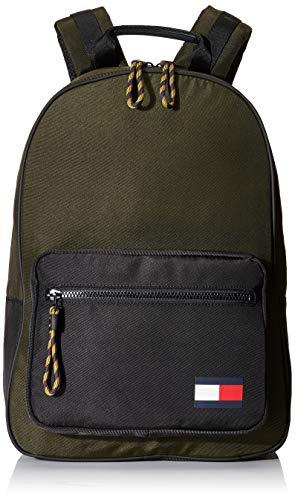 Tommy Hilfiger Herren TOMMY BACKPACK Taschen, Tarnfarbe, One Size