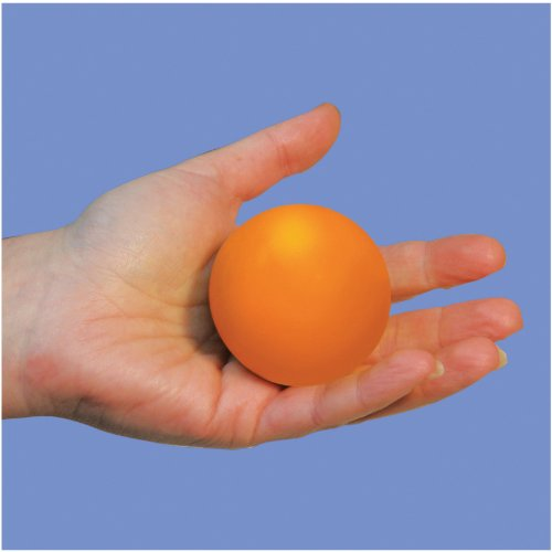 Aidapt Balle de Musculation Anti-Stress en Mousse Couleur Orange