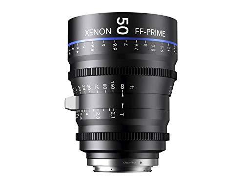 Schneider-Kreuznach 1085549 Cine Objektiv FF-Prime T2.1/50 mm, Sony E/m schwarz