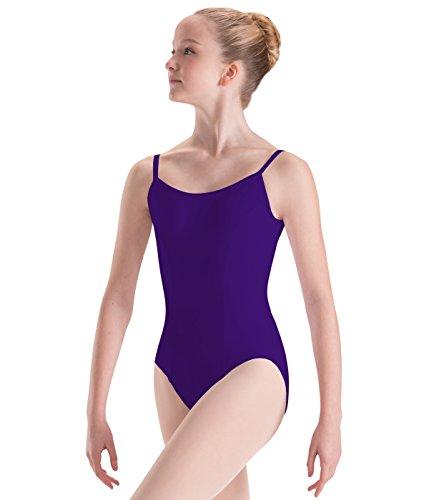 Motionwear Princess Seams Camisole Leotard, Ultraviolet, Large Adult