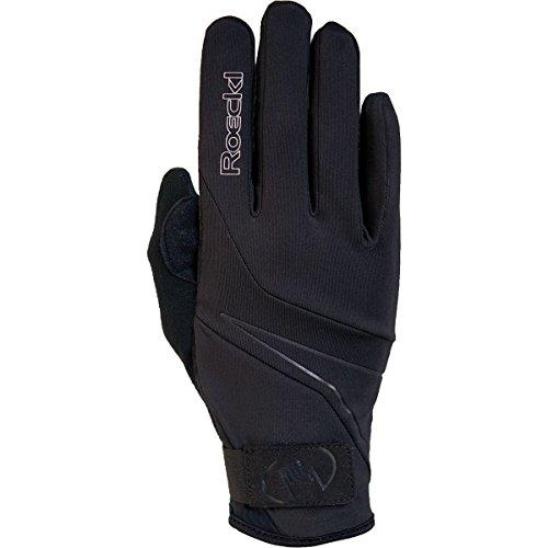 Roeckl Erwachsene Lillby Handschuhe, Schwarz, 8