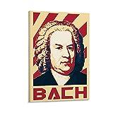 ASDFK Johann Sebastian Bach Poster, dekoratives Gemälde,