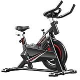 FEIFEI Bicicleta Estática Para El Hogar, Cómoda Bicicleta De Ejercicios Para El Hogar Con Soporte, Bicicleta De Ejercicios Electromagnética Ultra Silenciosa, Adecuada Para Ejercicios En El H