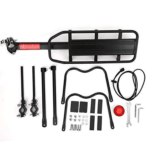 Snufeve6 Posicionamiento del Estante para Bicicletas, Soporte para portabicicletas, Accesorios de Repuesto para Bicicletas, tija de sillín para portabicicletas(All Aluminum Alloy)