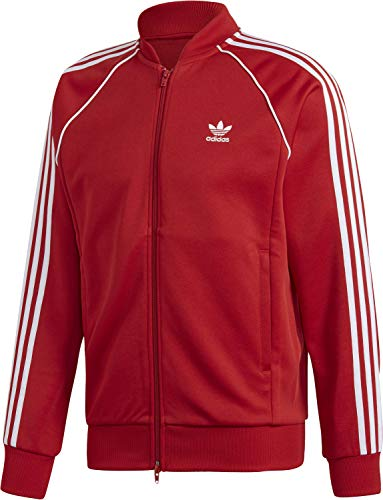 adidas Herren SST TT Sweatshirt, Power red, M