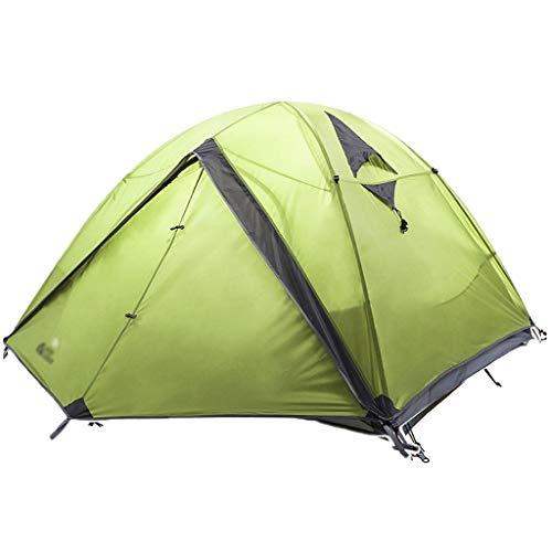 Utilisation multiple Sports de plein air Tente de protection solaire anti-pluie extérieur pôle aluminium étanche coupe-vent respirant Camping Camping pliable Équipement d'extérieur ( Color : Green )
