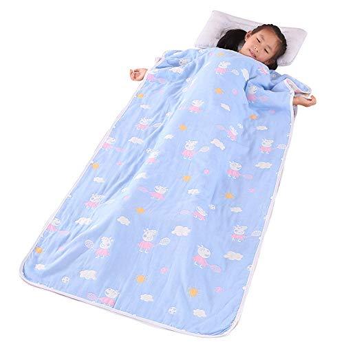 Babyschlafsack Kind Anti-Kick Quilt Babyschlafsack vier Jahreszeiten 0-12 Jahre-C_80 * 120cm schlafsack kinder schlafsack
