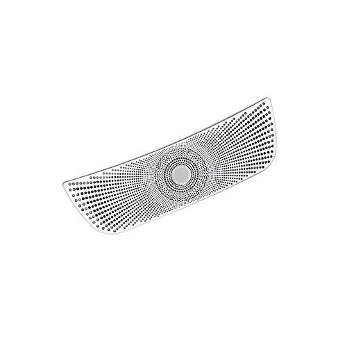 Interior automotriz Turbina posterior del coche cubierta de ventilación del ajuste etiqueta en forma for el Benz W205 W213 E200 E300 C200 Mercedes Auto Interior Outlet Aire Acondicionado Pegatinas